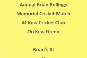 Brian Rollins Memorial Match